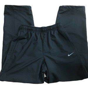 MENS Nike Dri Fit Warm Up Training Pants M Black
